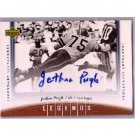 Jethro Pugh 2006 UD Legends Legendary Signatures Autograph #63 Cowboys