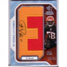 Keith Rivers RC Auto 2008 SP Rookie Threads Auto Patch #KR24 Bills, Giants, Bengals #/42