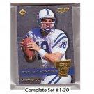 1999 Collector's Edge Supreme T3 Complete Set (#1-30)