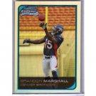 Brandon Marshall Refractor RC 2006 Bowman Chrome Refractor #253 RC Giants, Bears, Broncos