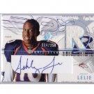 Ashley Lelie 2002 SPx Autographed Jersey RC #177 Broncos #/250