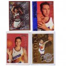 Steve Nash Rookie Lot 4-Card Lot 1996-97 Lakers, Suns, Mavs, Nets