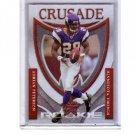 Adrian Peterson RC 2007 Leaf Rookie & Stars Crusade Rookie #RC-19  Vikings #/1000