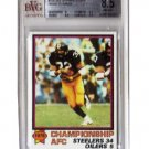 Steelers / Franco Harris 1979 Topps #186 BGS 8.5