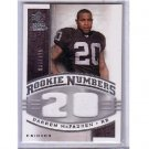 Darren McFadden 2008 SP Rookie Threads Rookie Numbers #RN-DM Raiders