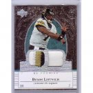 Byron Leftwich  2007 UD Premiere Patches Dual Patch #PP-LF Steelers, Jaguars
