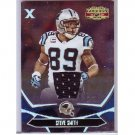 Steve Smith 2008 Gridiron Gear Silver Jersey #14 Panthers