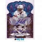 LeGarrette Blount #/50 Auto 2010 Crown Royale Autographs Blue #163 RC Steelers Patriots
