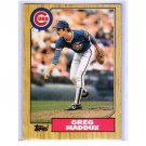 Greg Maddux 1987 Topps Traded #70T XRC (Rookie Card) Braves