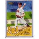 Greg Maddux 1996 Pinnacle Starburst #154  Braves, Cubs