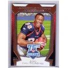 Demaryius Thomas 2010 Topps 75th Draft Anniversary #75DA-14 RC Broncos