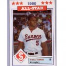 Frank Thomas 1990 Birmingham Barons #11 White Sox