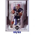 #/83 Lee Evans 2007 Leaf Limited Authentic Game-Worn Prime Jersey #13 Bills 4-Color