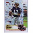 Tom Brady 2004 Topps Own the Game #OTG-8 Patriots