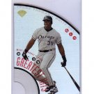 Frank Thomas 1997 Leaf Greatest Hits Acetate Die-Cut #8 White Sox  #/5000