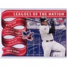 Frank Thomas 1997 Leaf Leagues of the Nation Die-Cut #7 White Sox  #/2500