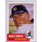 Mickey Mantle 1991 Topps Archives 1953 #82 Yankees