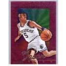 Jason Kidd RC 1995-96 Hoops SkyView #SV2 Mavericks Rookie Insert