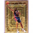 Grant Hill RC 1994-95 Embossed Golden Idols  #103 Pistons