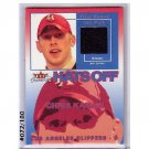 Chris Kaman 2003-04 Fleer Tradition Hats Off Relics #RHO-CK Clippers, Lakers #/180