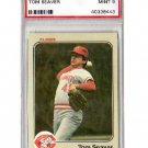 Tom Seaver 1983 Fleer #601 PSA 9 Mint Reds, Mets HOF