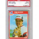 Tom Seaver 1985 Fleer #526 PSA 9 Mint Reds, Mets HOF