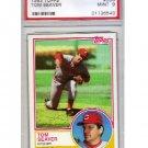 Tom Seaver 1983 Topps #580 PSA 9 Mint Reds, Mets HOF