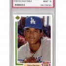 Pedro Martinez RC HOF 1991 UD Final Edition #2F RC Mint PSA 9 Dodgers, Red Sox, Mets