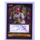 Chone Figgins 2008 Stadium Club Stained Glass Autograph #BTA-CF Dodgers, Angels
