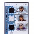 Jonathan Quick, Drew Doughty 2012-13 Artifacts #TT3-BQD Kings