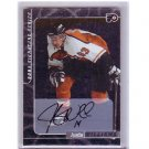 Justin Williams 2000-01 In the Game Signature Series Autograph #222 RC Kings