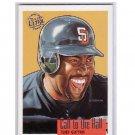 Tony Gwynn 1996 Fleer Ultra Call to the Hall Gold Medallion Edition #3 Padres