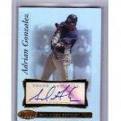 Adrian Gonzalez 2007 Bowman's Best Autograph #48 Dodgers, Red Sox