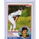 Wade Boggs 1983 Topps #498 RC  Red Sox Yankees HOF