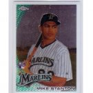 Mike Stanton RC 2010 Topps Chrome #190  Rookie  Marlins RC