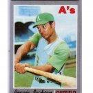 Reggie Jackson 1970 Topps #140 Yankees, A's HOF 2nd Year