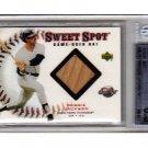 Reggie Jackson HOF 2001 UD Sweet Spot Game Bat #B-RJ  Yankees, A's