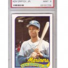 Ken Griffey Jr. HOF RC 1989 Topps Traded #41T RC PSA 9 Mint Mariners Rookie