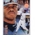 Ken Griffey Jr. 1996 Leaf Studio Bronze Press Proof #116  Mariners, Reds #/2000