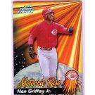 Ken Griffey Jr. Refractor HOF 2000 Bowman Chrome Meteoric Rise Refractor #MR3 Mariners, Reds