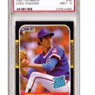 Greg Maddux 1987 Donruss #36 RC (Rookie Card) Braves HOF PSA 9 Mint