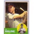 Al Kaline 1963 Topps #25 Tigers HOF
