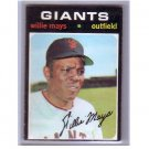 Willie Mays 1971 Topps #600 Giants HOF