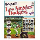1971 Dell Los Angeles Dodgers Official MLB Stamp Album w/24 Stamps 2 Uncut Sheets Garvey, Sutton