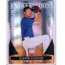 Clayton Kershaw 2011 Donruss Elite Extra Edition Aspirations Die-Cut #3 Dodgers #/200