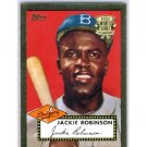Jackie Robinson 2002 Topps 1952 Reprints #52R-10 Dodgers