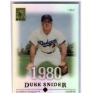 Duke Snider 2004 Topps Tribute #60 Brooklyn Dodgers HOF