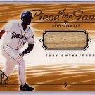 Tony Gwynn 2000 SP Game-Bat Edition Piece of the Game Authentic Bat #TGw Padres