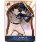Dee Gordon RC 2011 Topps Finest Rookie Refractor #82 RC Dodgers #/549