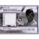 Steve Garvey 2011 In the Game Heroes Game-Used Jersey Silver Parallel #HM-16 Dodgers